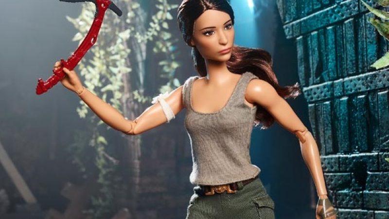 Ecco Barbie-Lara Croft, l'ultima invenzione della Mattel