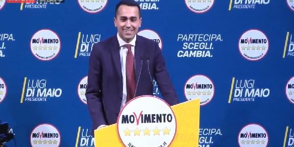 """M5S, Di Maio 'piglia-tutto': """"La Camera sarà nostra"""""""