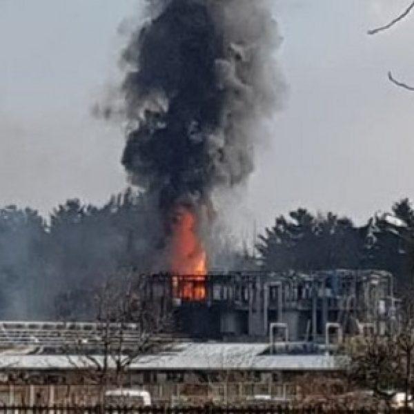 Como, esplosione in azienda rifiuti: diversi feriti