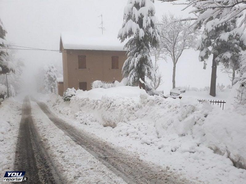 Campania. Protezione civile, nuovo avviso. In arrivo neve e gelo