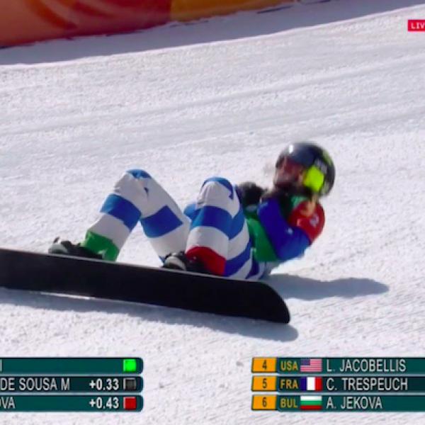 Olimpiadi, Michela Moioli oro nello snowboardcross