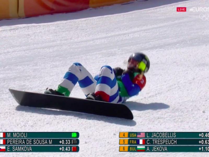 medaglia d'oro Moioli, Michela Moioli, Oro Moioli, oro Moioli snowboardcross., snowboardcross oro
