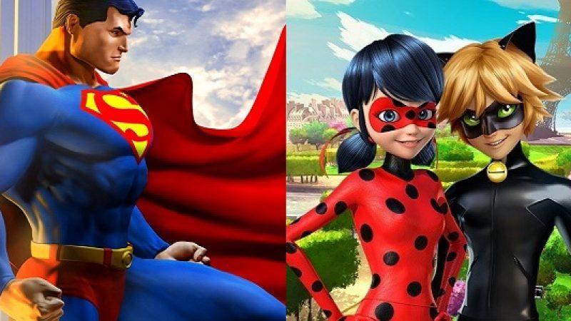 I bambini alla ricerca dei supereroi