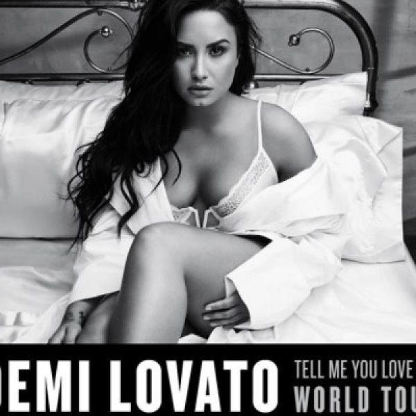 Demi Lovato in tour, una tappa sarà in Italia