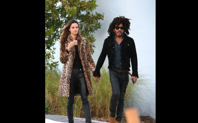 Gossip, nuova (e giovanissima) fidanzata per Lenny Kravitz