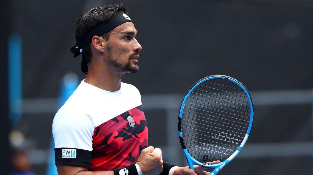Ranking ATP, Fognini sale al 19° posto. Crollo Murray