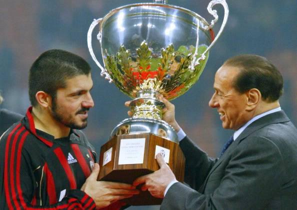 """Milan, parla Berlusconi: """"Grande Rino, ma sbagli modulo"""""""