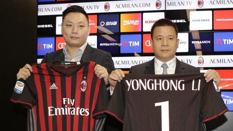 Milan, Yonghong Li insolvente? Il patrimonio messo all'asta