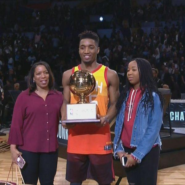 NBA, Booker re del tiro da 3. Mitchell vince la gara delle schiacciate