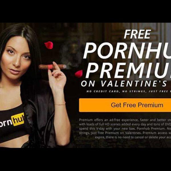 Pornhub Premium gratis per San Valentino