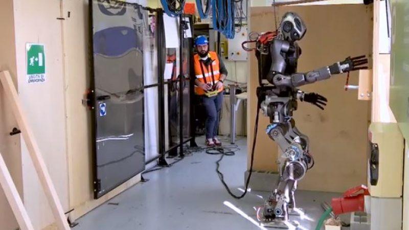 WalkMan, il robot che gestisce le emergenze