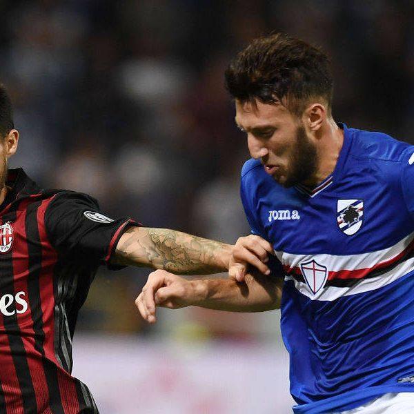 Serie A, il Milan si impone sulla Sampdoria 1-0