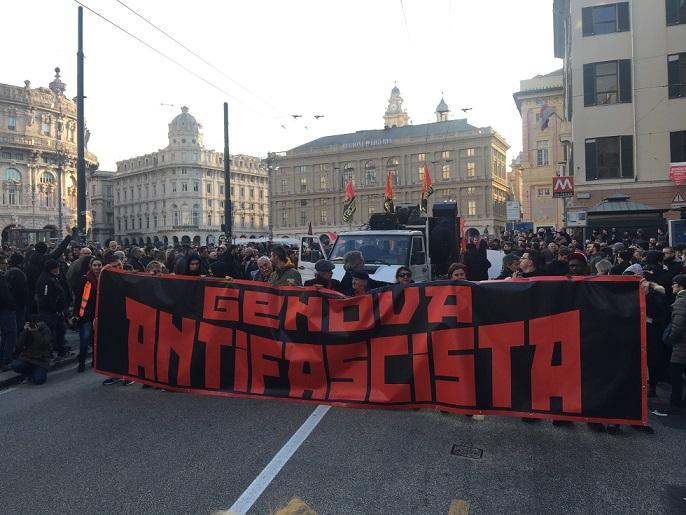 Genova, perquisite le abitazioni dei militanti di Casapound