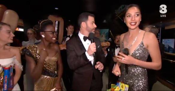 Oscar 2018, lo scherzo di Jimmy Kimmel