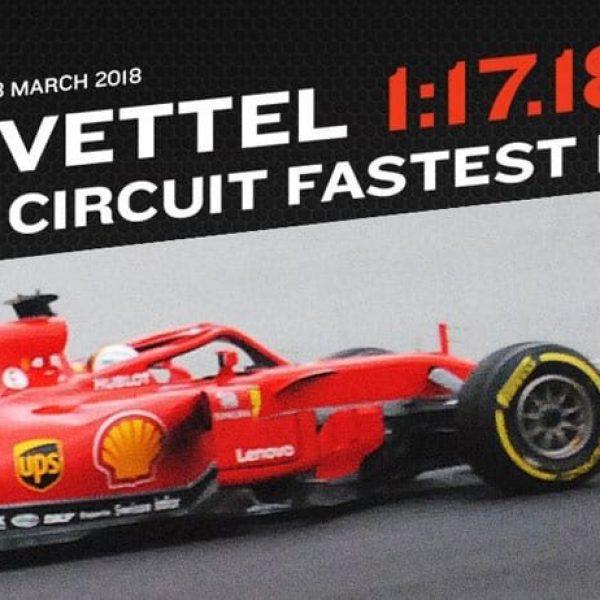 F1, Vettel vola a Barcellona: miglior crono nel terzo test