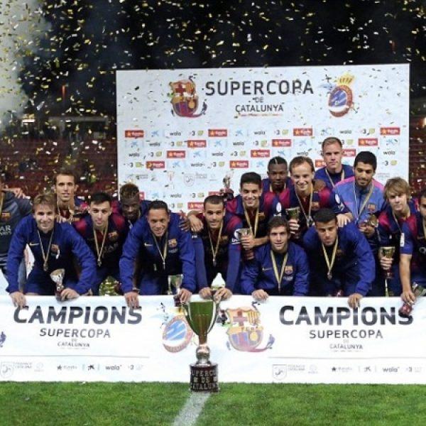 Il Barcellona vince ai rigori la Supercoppa Catalunya