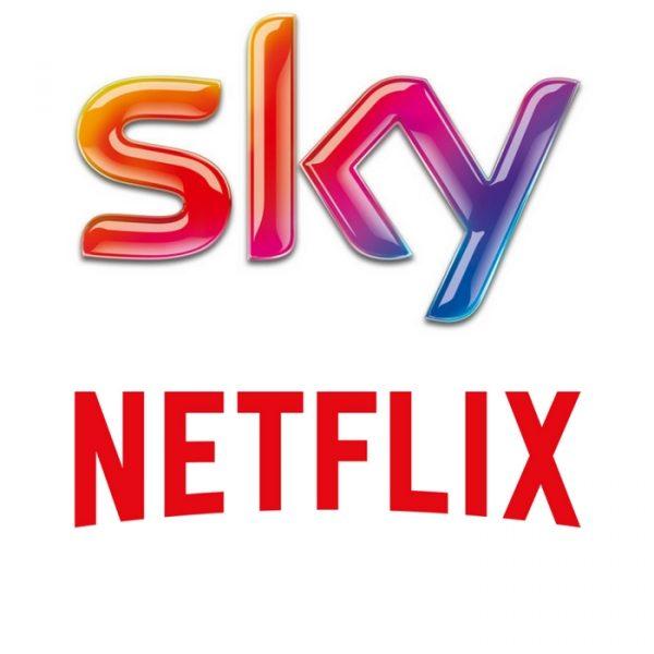 Accordo Sky-Netflix, pacchetto unico in Europa