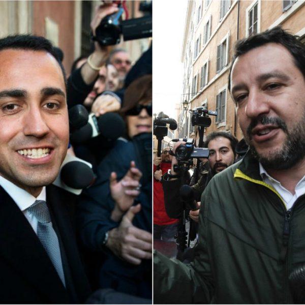 Governo, i sondaggi premiano accordo Lega-M5S