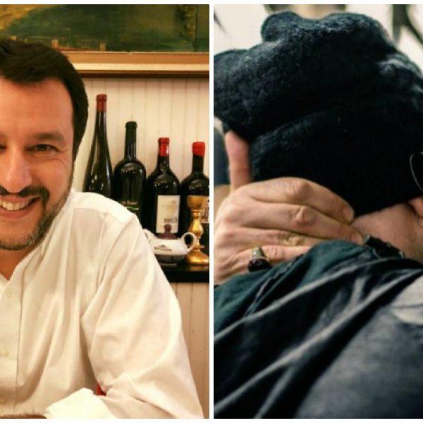 Saviano vs Salvini: