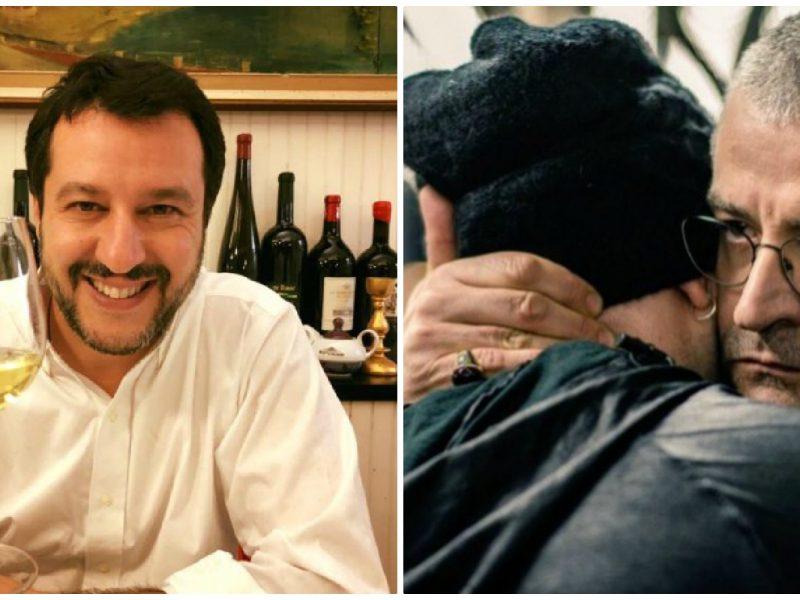 Saviano contro Salvini
