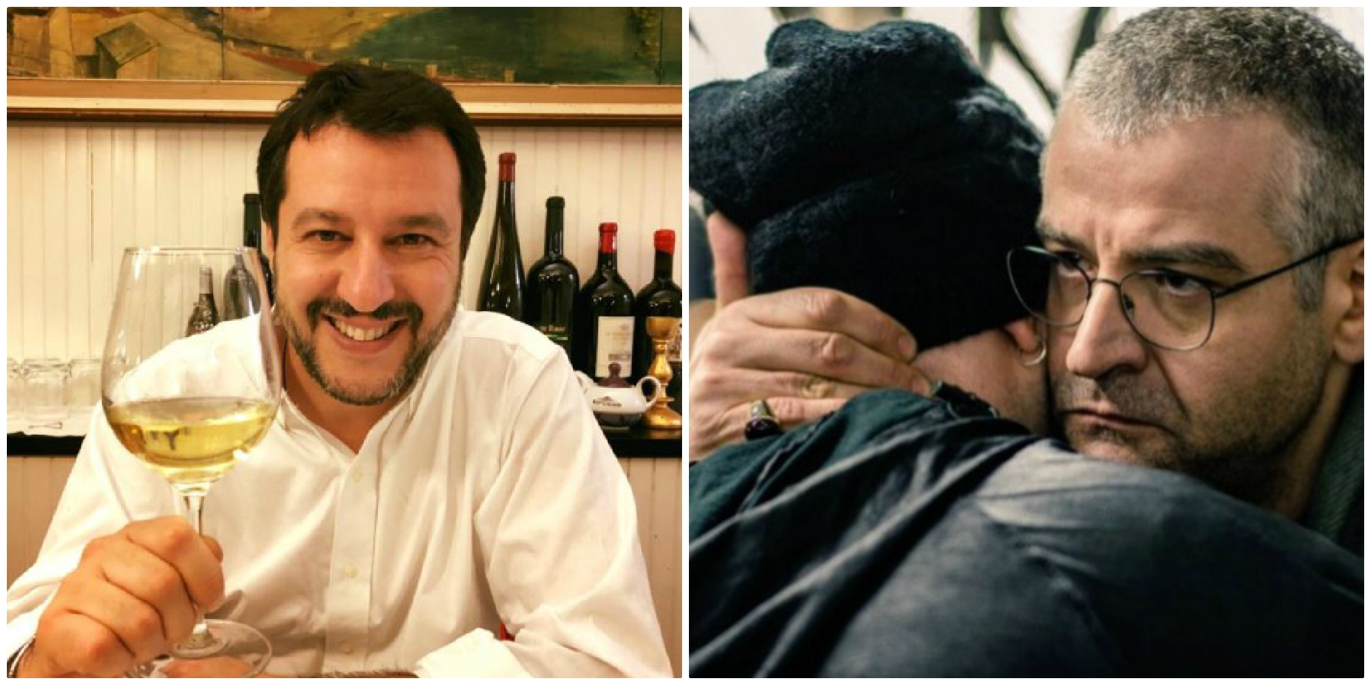 """Saviano vs Salvini: """"Biv Matte', famm' capì si me pozz' fida' 'e te!"""""""