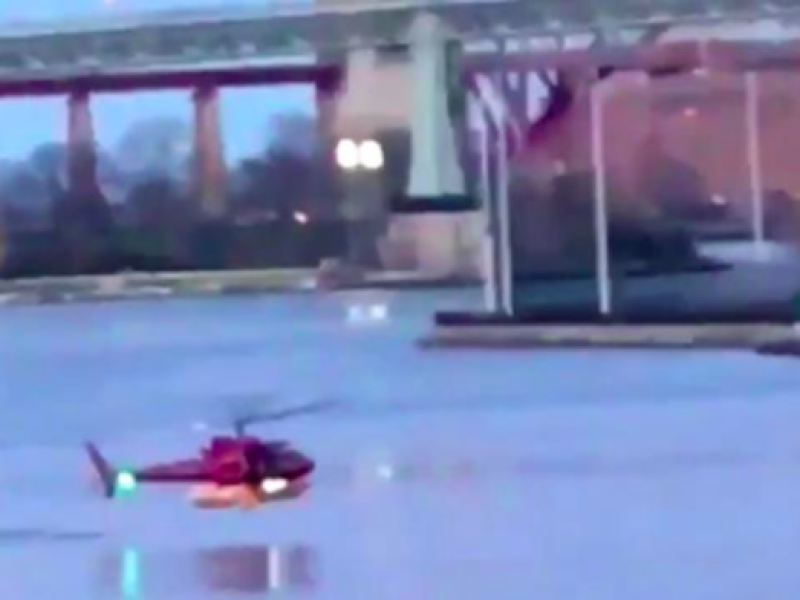 incidente east river, incidente elicottero east river, incidente New York, New York, video elicottero new york