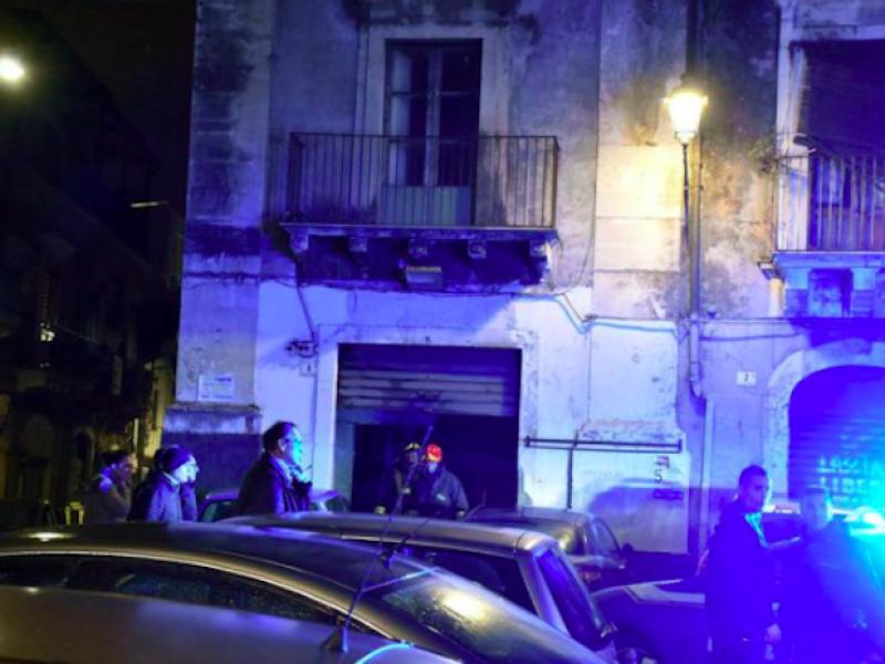 Catania. Esplosione in via Garibaldi ci sono 4 morti