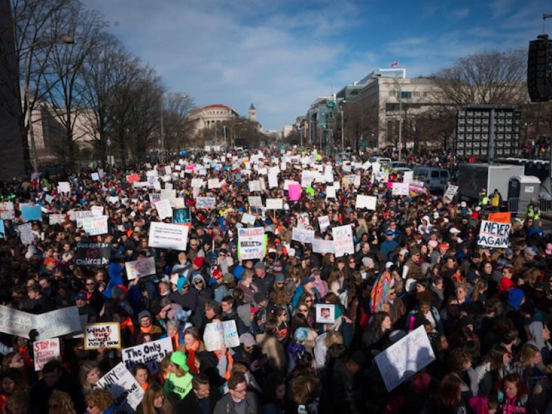 armi, giornata armi, manifestazione armi, manifestazione armi usa, manifestazione armi Washington, strage Parkland