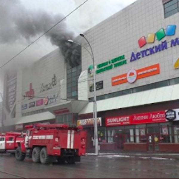 Siberia, brucia un centro commerciale: almeno 64 morti