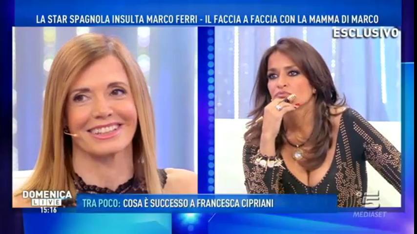 """Gossip, la spagnola Aida Nizar: """"Io sono il sogno di Marco Ferri"""""""