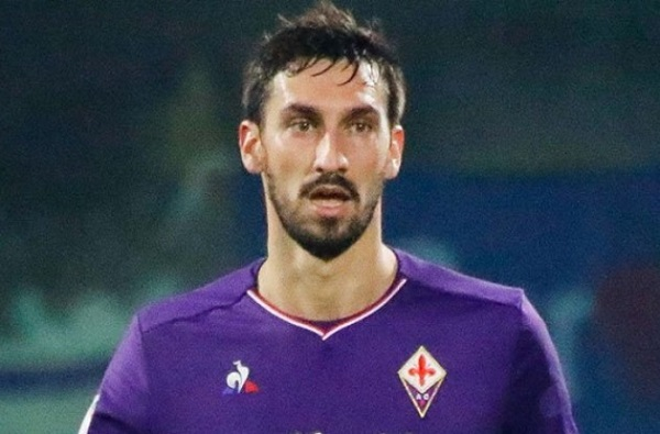 Udinese-Fiorentina, un minuto di applausi per Astori al 13°