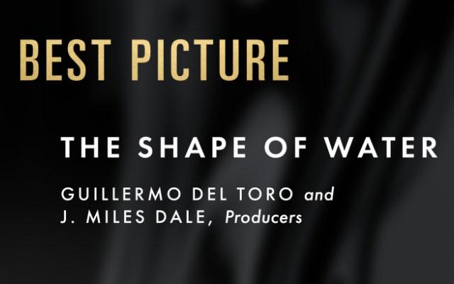"""Oscar 2018: trionfo per """"La forma dell'acqua"""", miglior film e regia"""