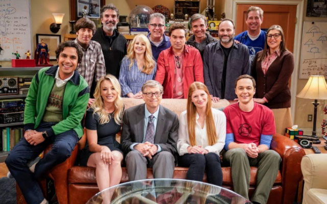 "Anche Bill Gates in una puntata di ""The Bing Bang Theory"""