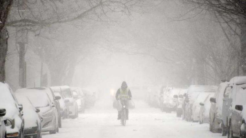 Bufera di neve a New York, duecento studenti siciliani bloccati