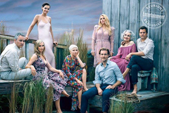 Dawson's Creek, le foto della reunion del cast