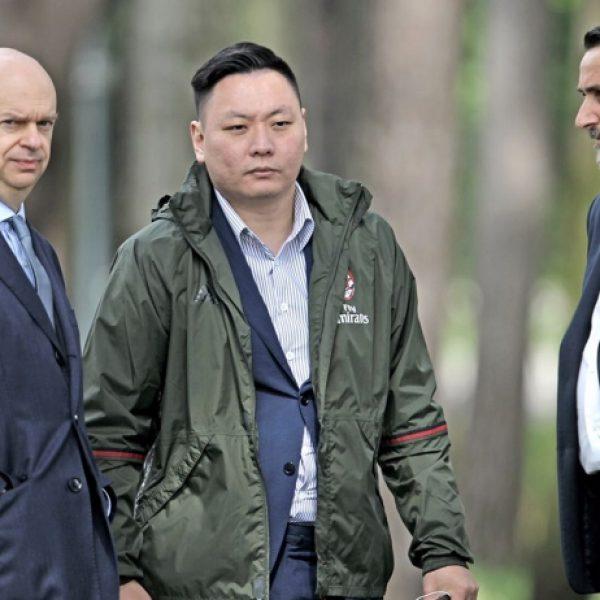 Yonghong Li, Mirabelli,, Milan, Fininvest