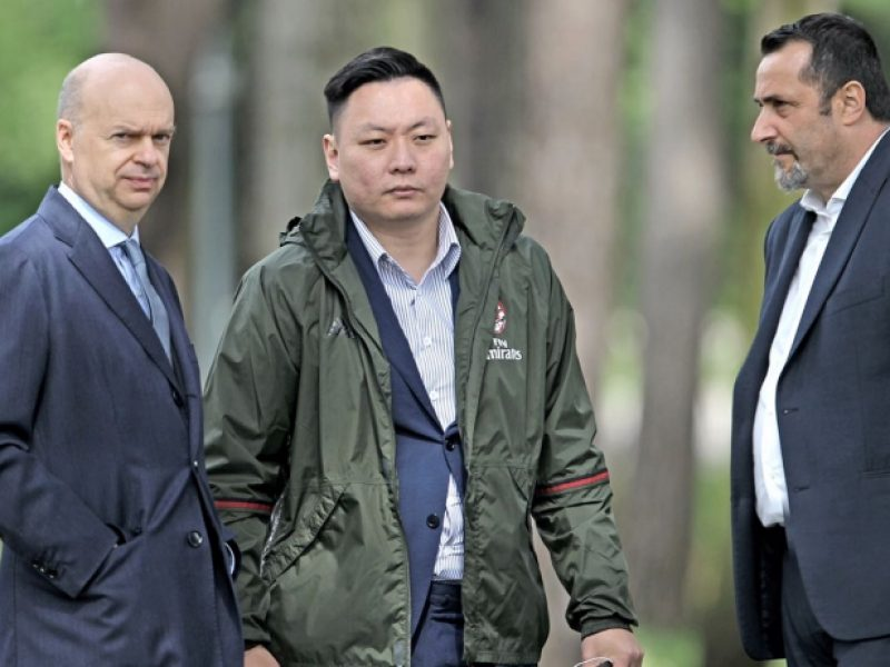 Clamoroso Milan : fallisce la società Jie Ande del presidente Yonghong Li