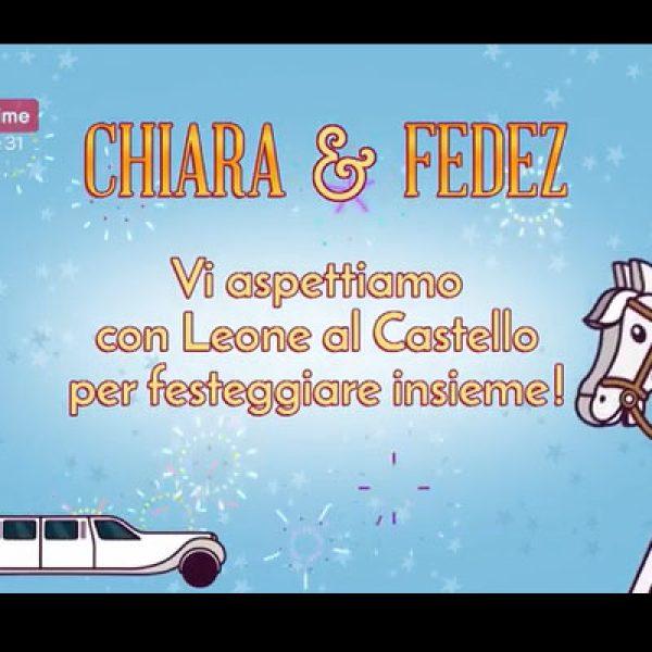 Fedez, Chiara Ferragni e Leone invitati dal Boss delle Cerimonie VIDEO