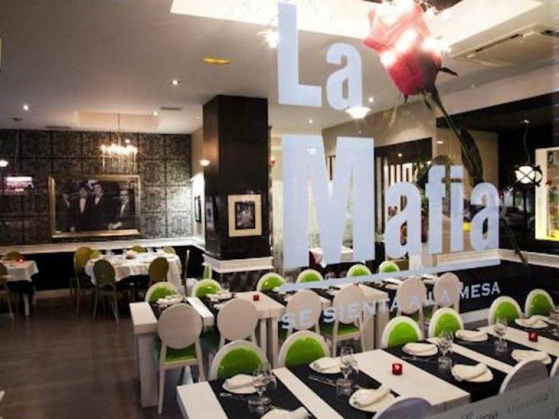 La Mafia, marchio mafia, marchio mafia ristorante, la mafia se sienta a la mesa, marchio mafia Ue,