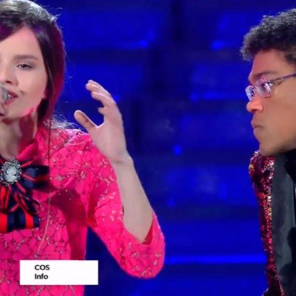 Sanremo, il duetto da bridivi di Eleonora e Leonardo De Andreis