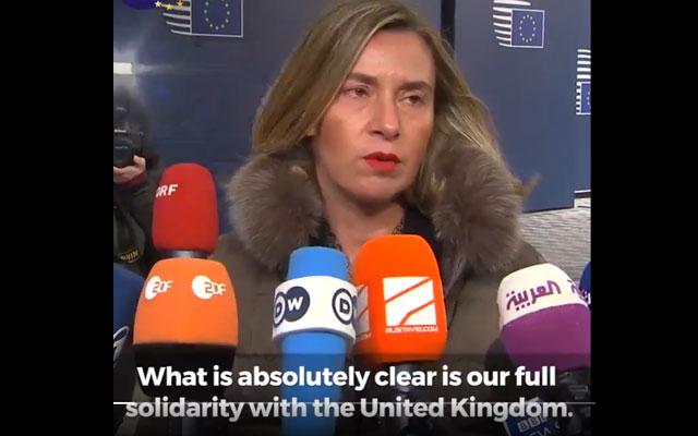 """Spia russa, l'UE: """"Quanto è accaduto è inaccettabile"""""""