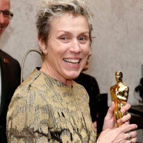 Oscar, sarà rilasciato l'uomo che rubò la statuetta a McDormand