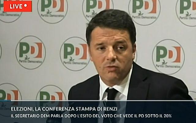 Renzi lascia la segreteria del Pd ma dopo l'insediamento del governo