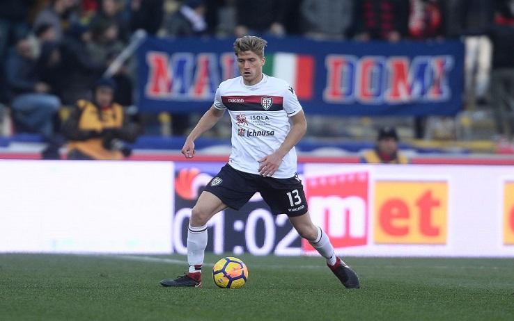 """Cagliari, Romagna cambia numero: """"Il 13 per sempre di Astori"""""""
