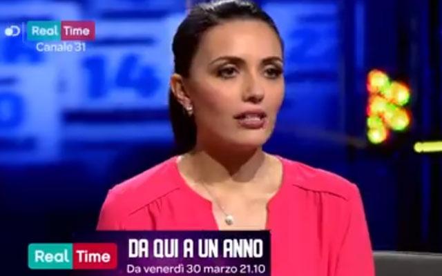 """Serena Rossi su Real Time con """"Da qui a un anno"""""""