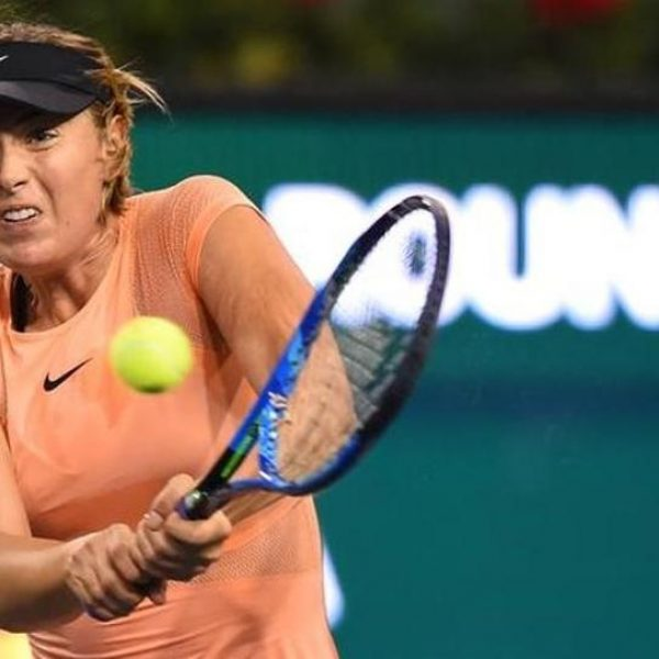 Indian Wells, subito out Sharapova. Eliminato Berrettini