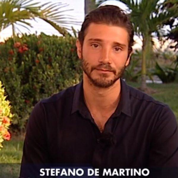 Stefano De Martino ed Emma a Verissimo: