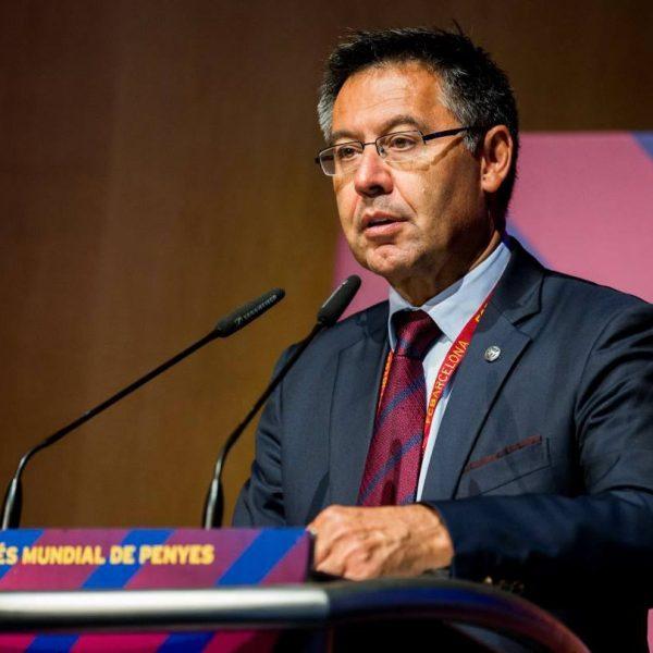 """Barcellona, parla Bartomeu: """"La Roma ha meritato"""