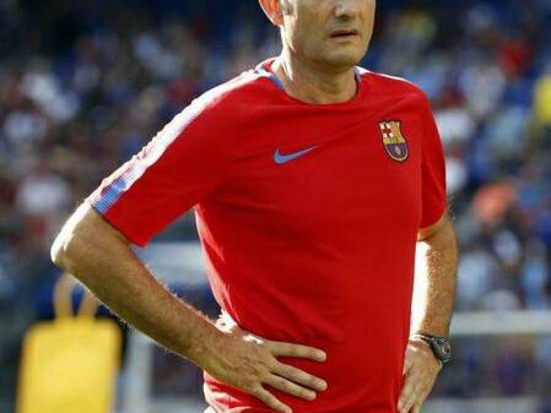 Valverde, Barça, blaugrana
