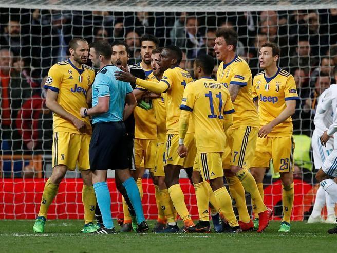 Champions League, Real Madrid-Juventus termina 1 – 3 bianconeri beffati nel finale